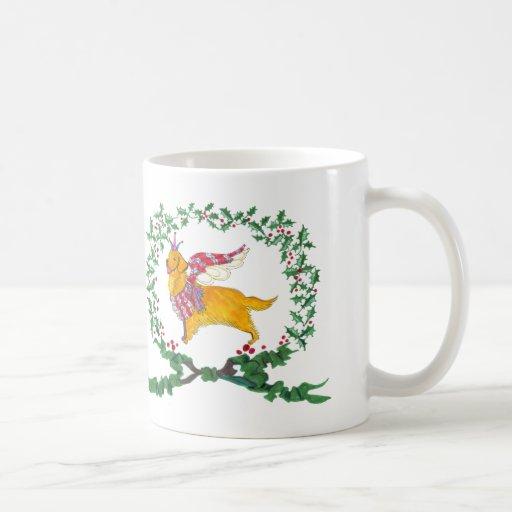 Gulliver's Angels Golden Retriever Holiday Mug