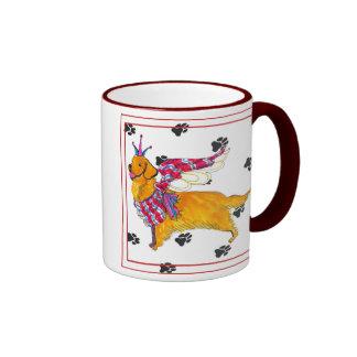 Gulliver's Angels Golden Retriever  Mug
