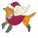 Gulliver's Angels Labrador Christmas Ornament Photo Cutouts