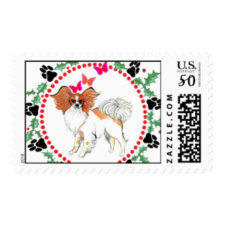 Gulliver's Angels Papillon Holiday Stamp