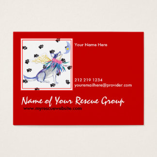Gulliver's Angels Rescue Business Card