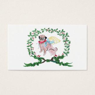 Gulliver's Angels Rosebud Pug Gift Tag