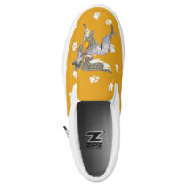 Gullivers Angels Slipon Scottish Deerhound Walking Slip-On Sneakers
