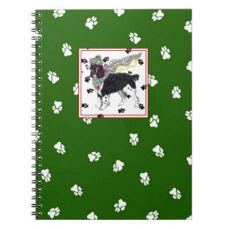 Gulliver's Angels Springer Spaniel Notebook