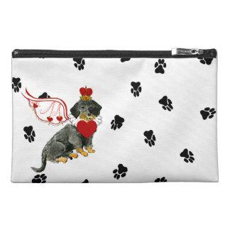 Gulliver's Angels Wirehair Dachshund Accessory Bag
