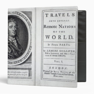 'Gulliver's Travels' by Jonathan Swift, 1726 Binder