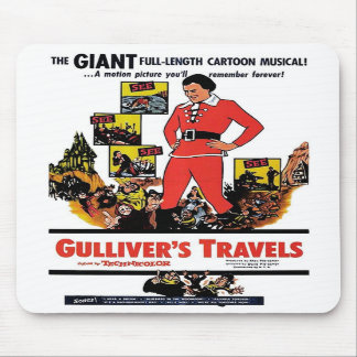 """Gulliver's Travels"" Mousepad"