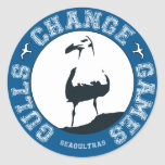 "Gulls Change Games 3"" stickers (sheet of 6)"
