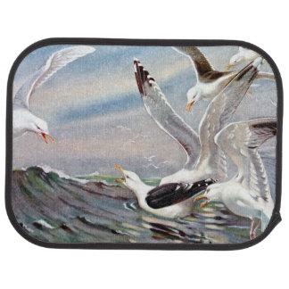 Gulls In Ocean Floor Mat