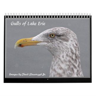 Gulls of Lake Erie Wall Calendar