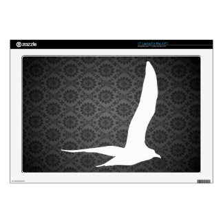 """Gulls Pictograph 17"""" Laptop Decal"""