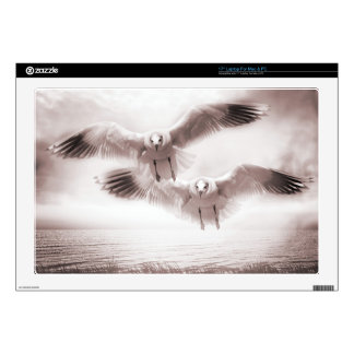 """Gulls Decals For 17"""" Laptops"""