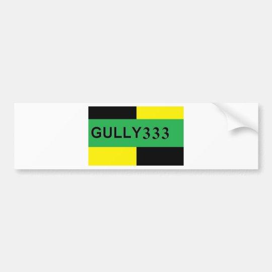 GULLY 333 BUMPER STICKER