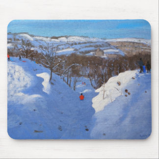 Gully Black Rocks Derbyshire 2009 Mouse Pad