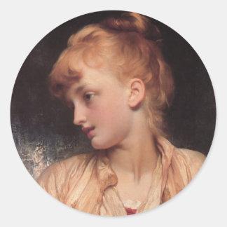 Gulnihal - Lord Frederick Leighton Classic Round Sticker