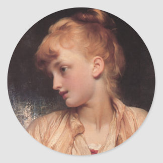Gulnihal - Lord Frederick Leighton Round Stickers