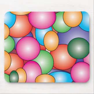 Gum Balls Candy Mouse Pad