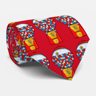 Gum Balls in Red, White and Blue Tie