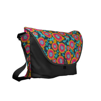 Gum Blossom Satchel Courier Bag
