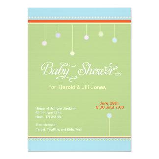 Gum Drop Baby Shower Invitation