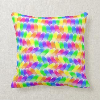 Gum Drops Design Throw Pillow