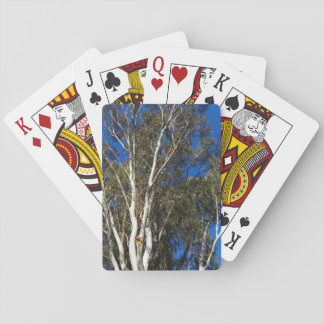 Gum Trees Playing Cards