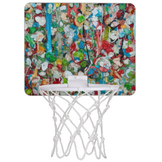 Gum Wall Basketball Hoop Mini Basketball Backboards