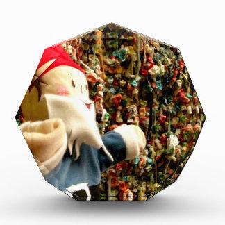 Gum Wall Gnome II Acrylic Award