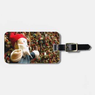 Gum Wall Gnome II Travel Bag Tag