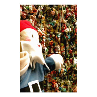 Gum Wall Gnome II Stationery
