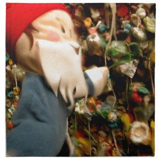 Gum Wall Gnome IV Napkin