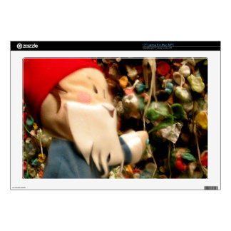 """Gum Wall Gnome IV Skin For 17"""" Laptop"""