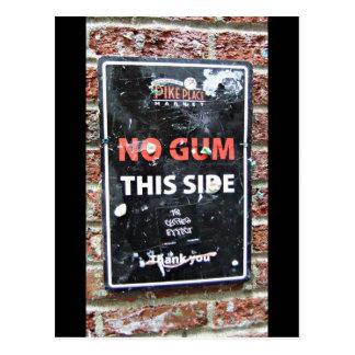 Gum Wall Pike Place Market, Seattle WA Travel Postcard