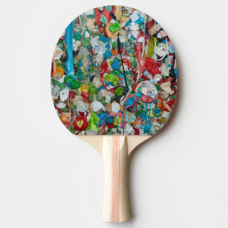 Gum Wall Ping Pong Paddle