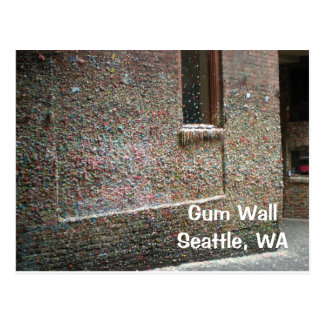 Gum Wall Post Card