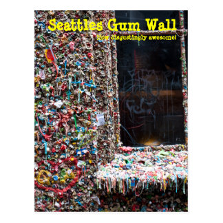 Gum Wall Seattle Post Cards