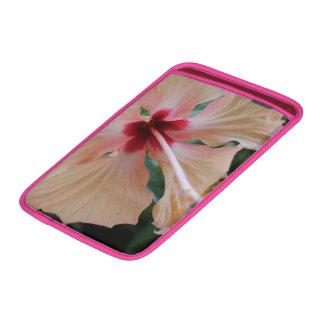 gumamela flower background MacBook air sleeve