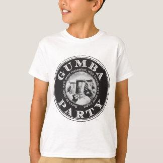 Gumba Party -Black Logo T-Shirt