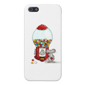 Gumball Design with cute little Mouse iPhone SE/5/5s Cover