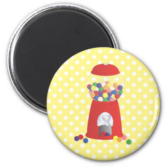 Gumball Fantasy 2 Inch Round Magnet