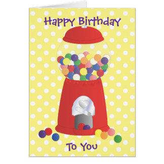 Gumball Fantasy Greeting Card