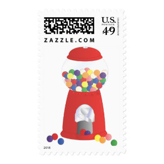 Gumball Fantasy Postage Stamp
