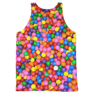 Gumball Invasion Tanktop All-Over-Print Tank Top