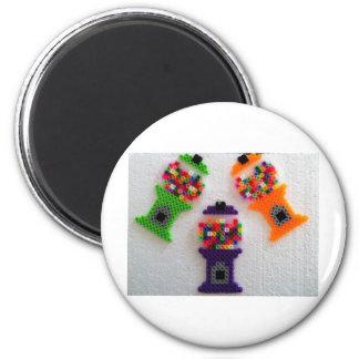 gumball machine 2 inch round magnet