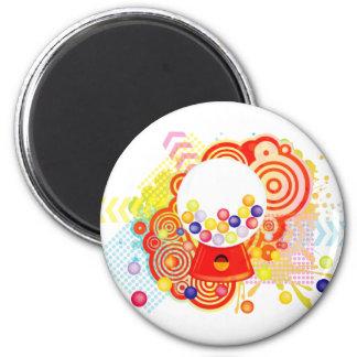 Gumball_Machine 2 Inch Round Magnet