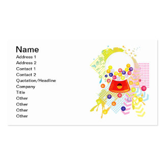 Gumball_Machine Double-Sided Standard Business Cards (Pack Of 100)