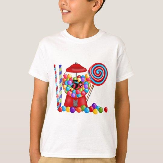 Gumball Machine Candy Lollipop T-Shirt