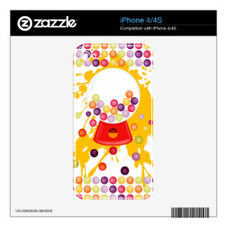 Gumball_Machine iPhone 4S Decal