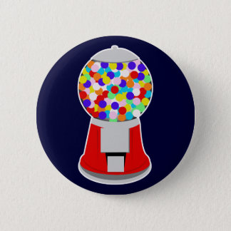 Gumball Machine Pinback Button