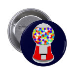Gumball Machine Pinback Buttons